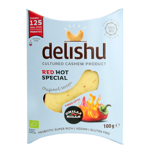 Delishu HOT -Chipotle 100g BIO/Organic